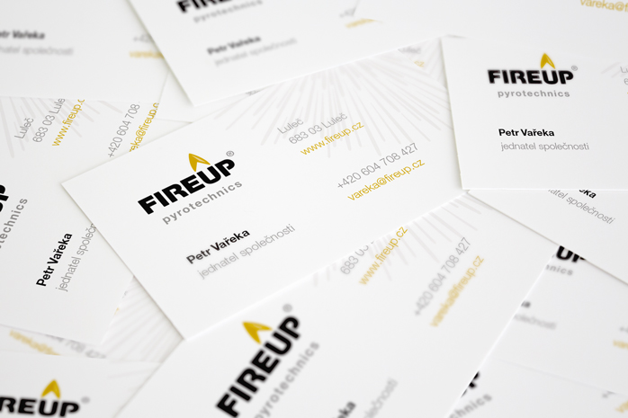 FireUp - corporate business cards